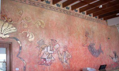 Mural Hotel la Hacienda,paracas / Mural Hotel
