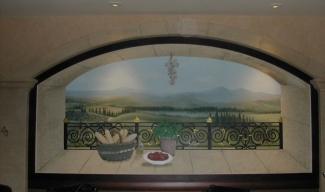 Mural sobre lienzo / Canvas Mural