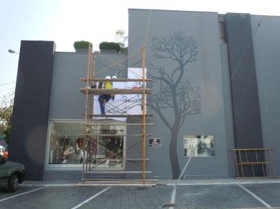 Mural Arbol / Tree mural