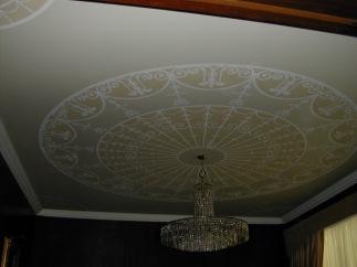Mural en cielo raso / Painted ceiling
